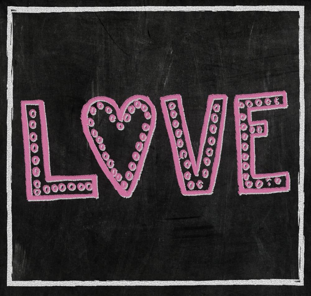 Valentine's Chalkboard - image 3 - student project