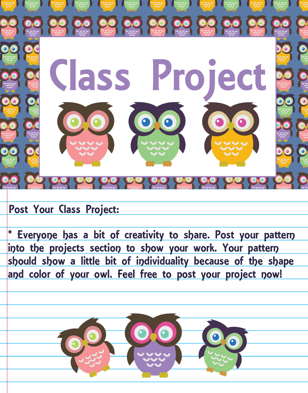 Adobe Illustrator: How to Make Seamless Owl Pattern - image 3 - student project