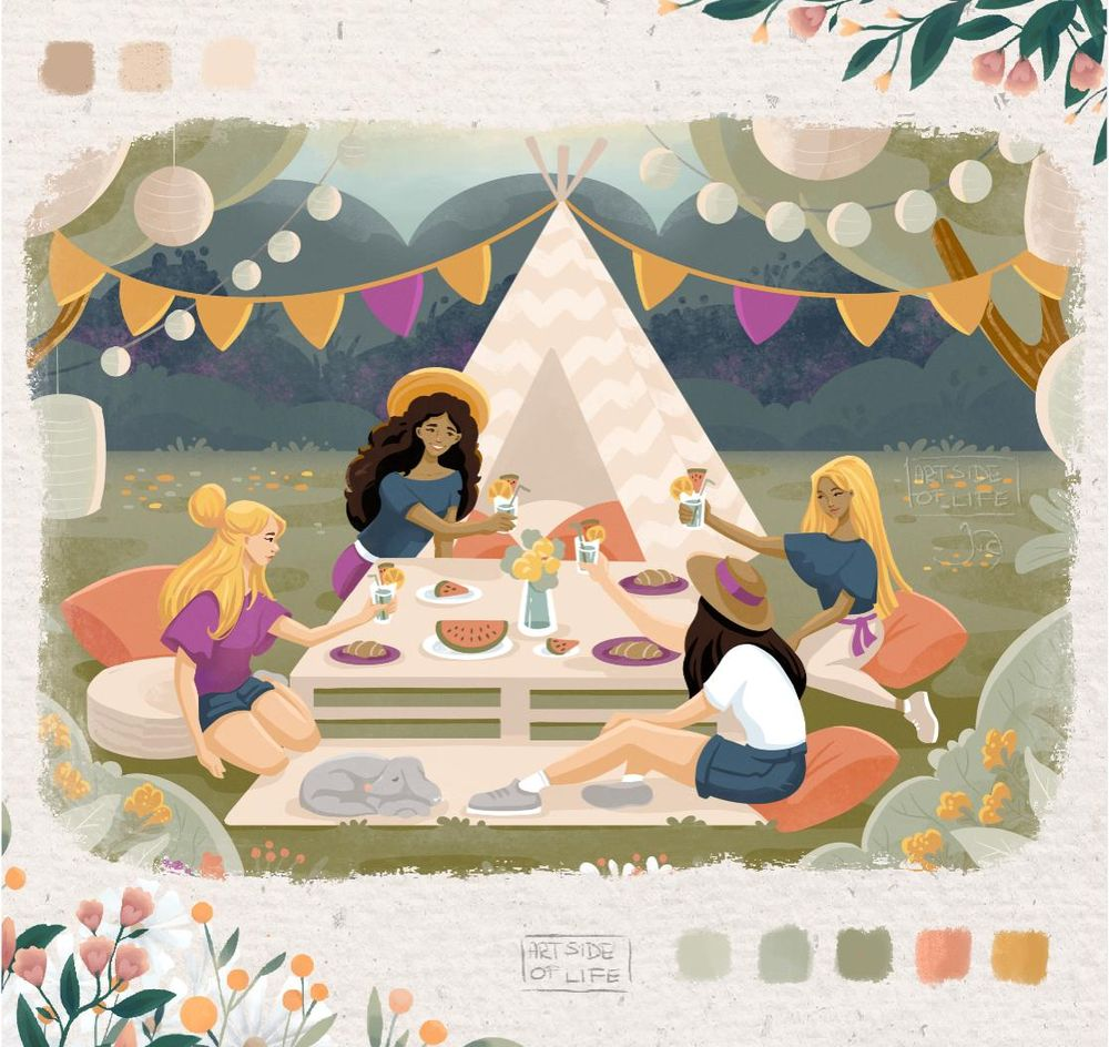 Picnic in the Park - image 1 - student project
