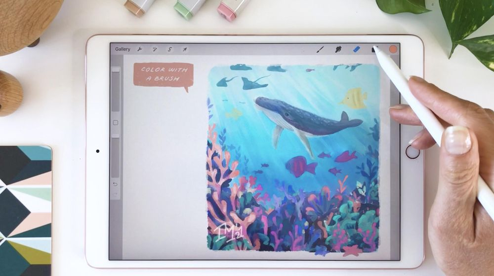 Underwater Scene - image 2 - student project