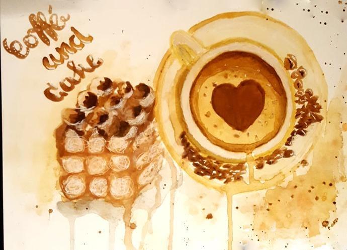 Coffee and Tiramisu  - image 1 - student project