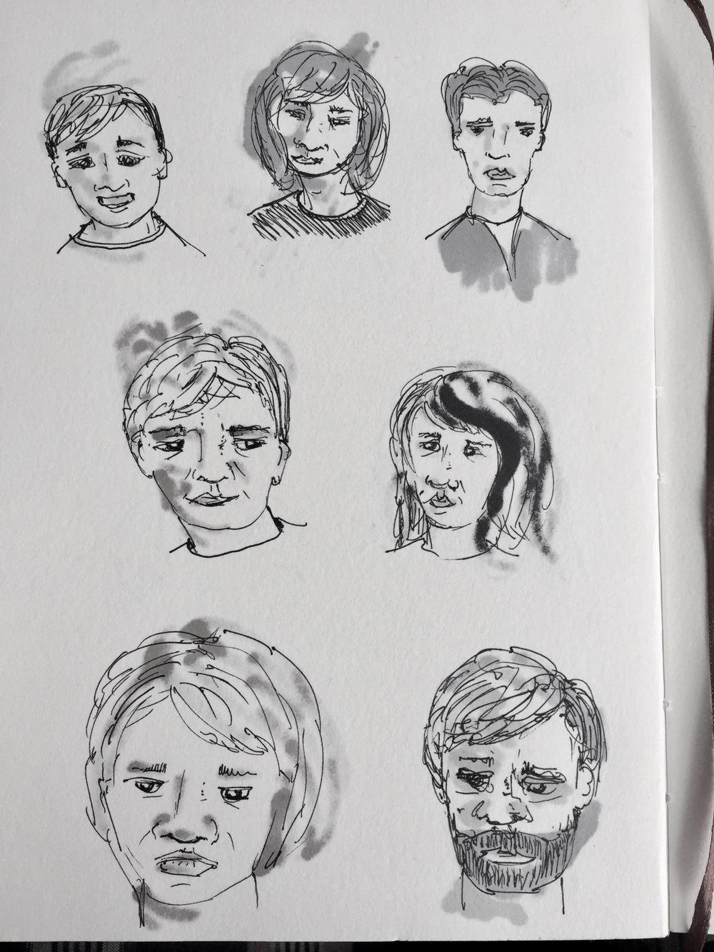 Pen Faces - image 1 - student project