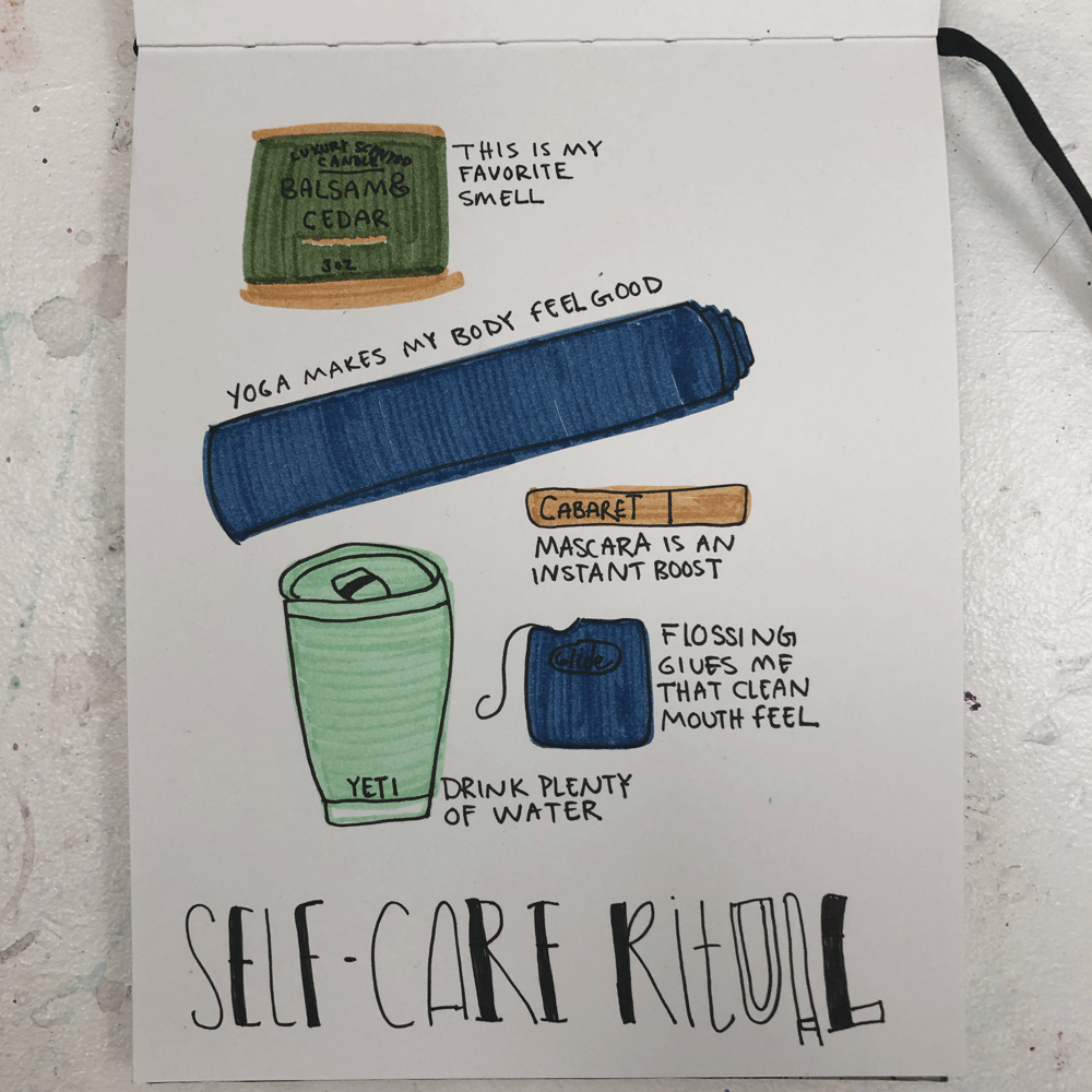 28 Days of Journaling - image 9 - student project