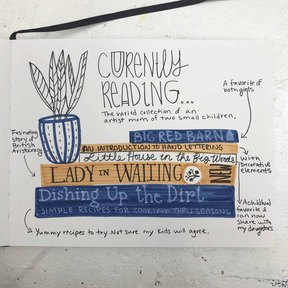 28 Days of Journaling - image 11 - student project
