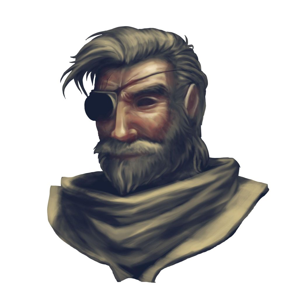 Space Pirate (portrait) - image 7 - student project