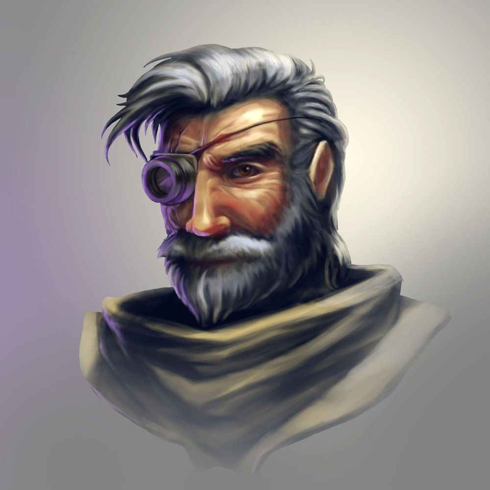 Space Pirate (portrait) - image 8 - student project
