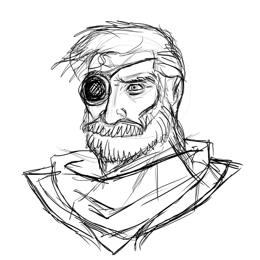 Space Pirate (portrait) - image 1 - student project