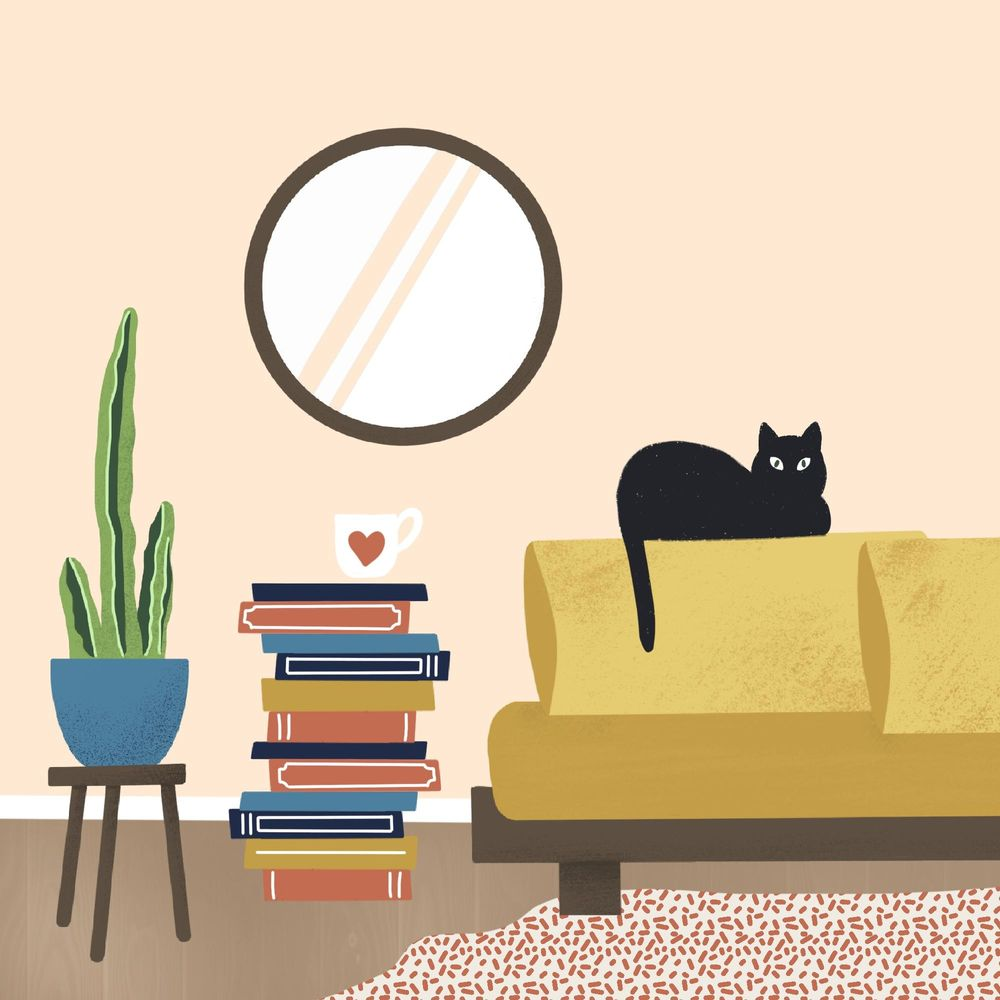 scene with a cat - image 1 - student project