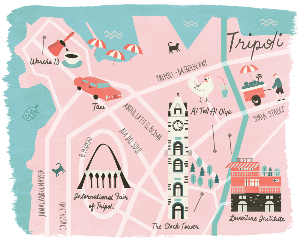 Tripoli Map - image 1 - student project