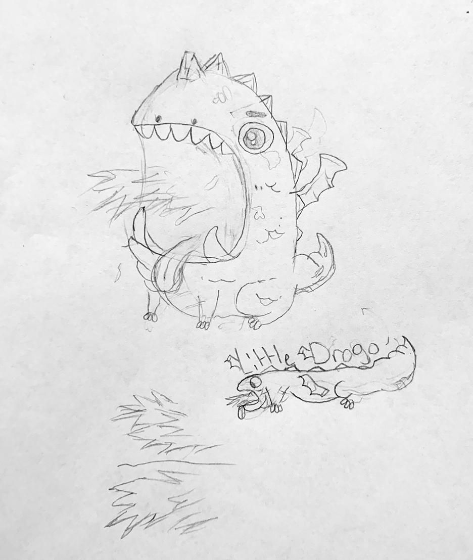 Little Drago - image 2 - student project