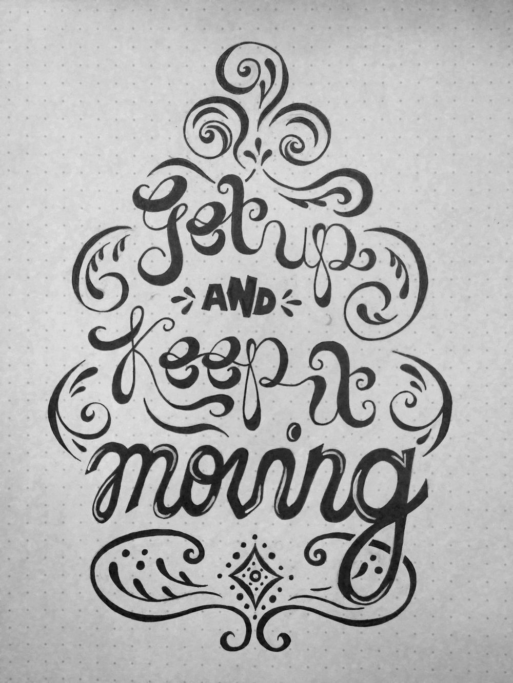 Get Up & Keep It Moving - image 1 - student project