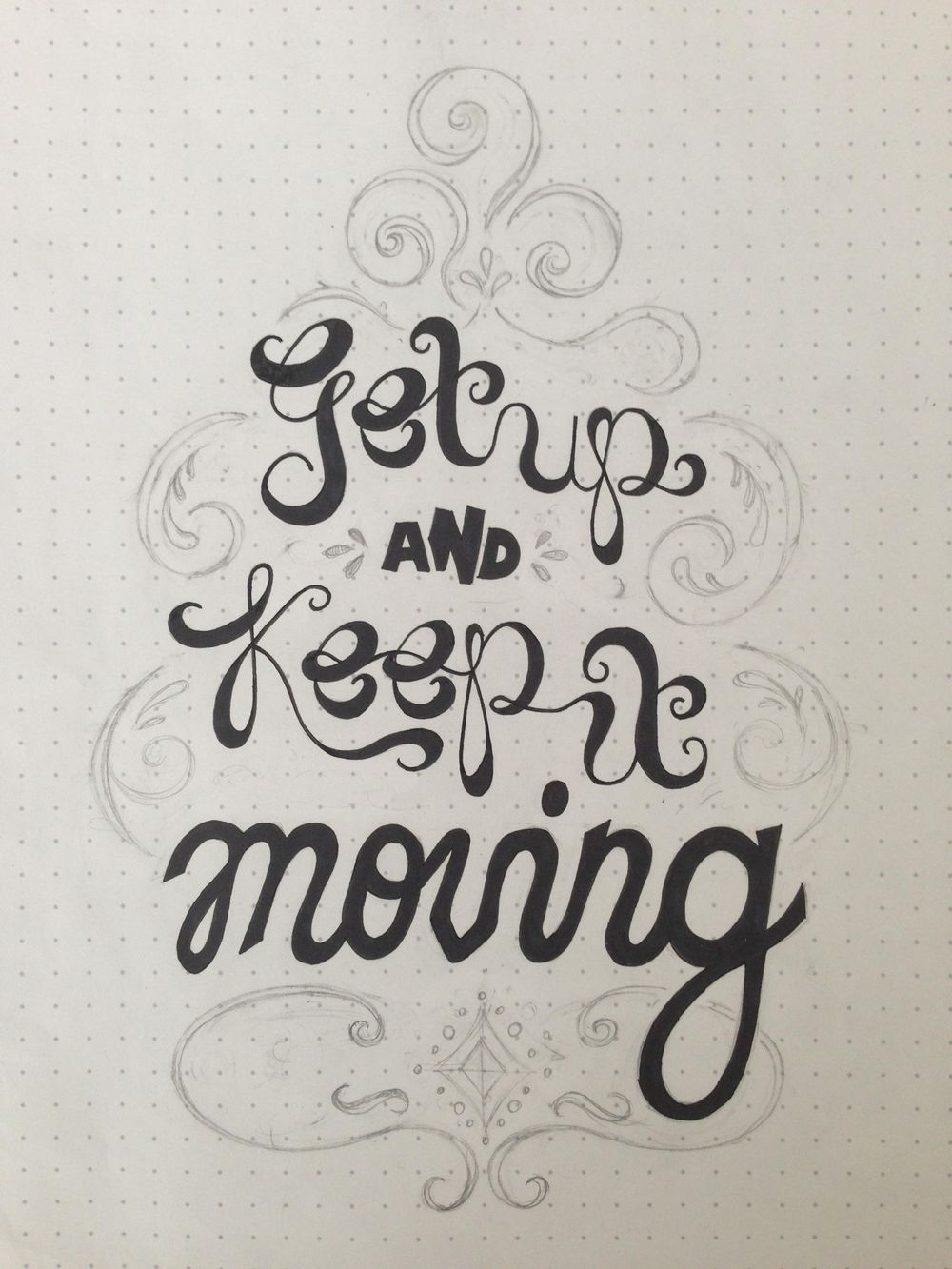 Get Up & Keep It Moving - image 2 - student project