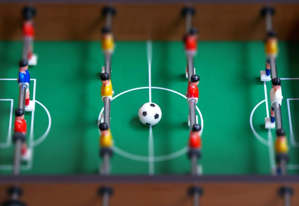 Table football tilt shift - image 2 - student project
