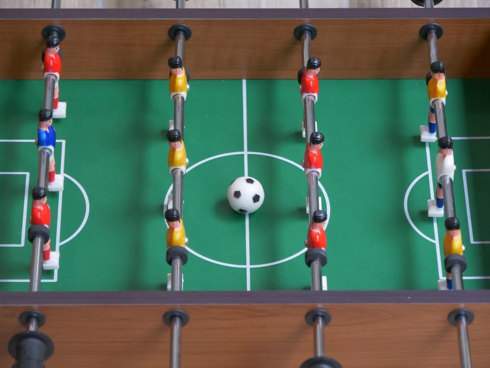 Table football tilt shift - image 1 - student project