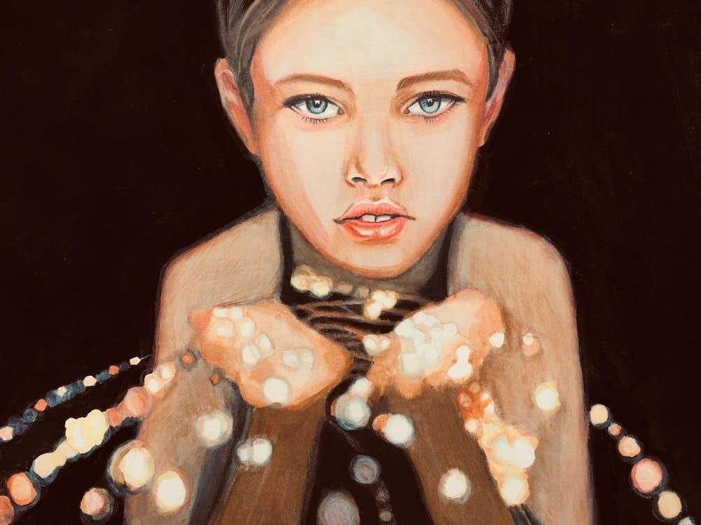 Lightened Portrait - image 1 - student project