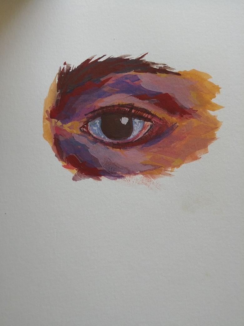 Gouache Eye - image 3 - student project