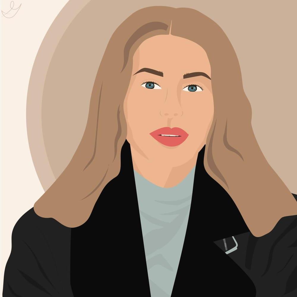 Portrait photograph vector - image 2 - student project