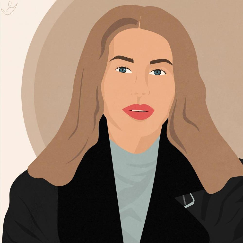 Portrait photograph vector - image 1 - student project