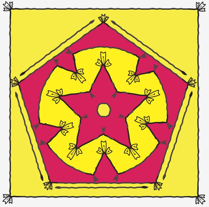 Corner tiles - image 1 - student project