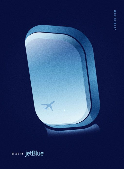 jet blue poster - image 1 - student project