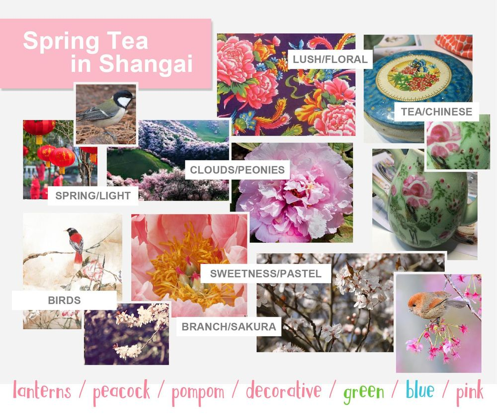 3 Patterns in 3 Weeks - Spring Tea in Shangai - image 1 - student project