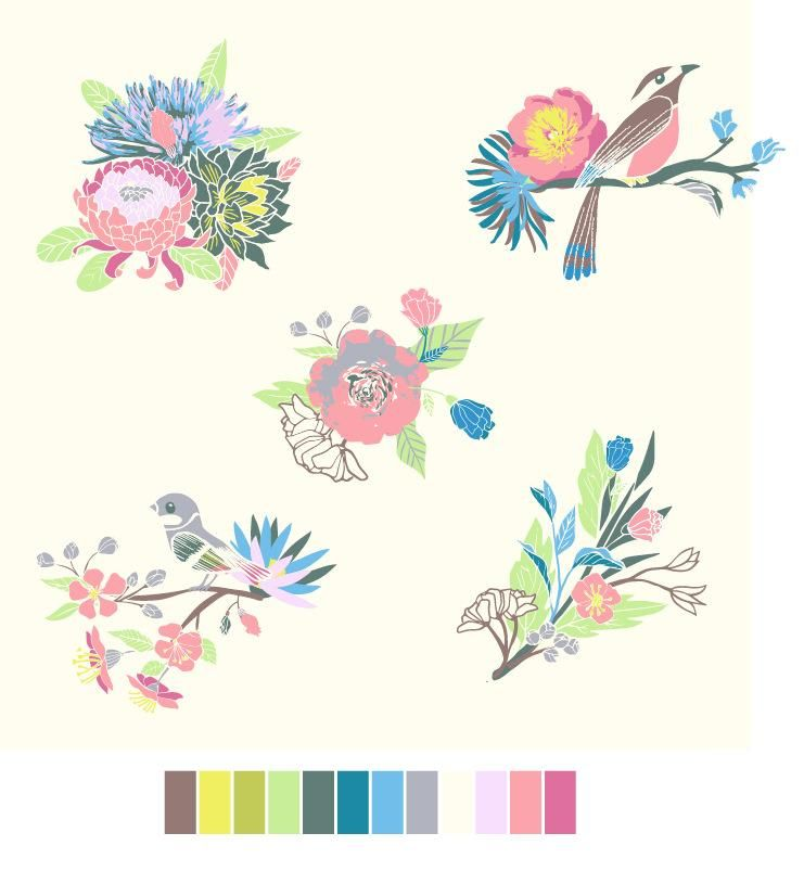3 Patterns in 3 Weeks - Spring Tea in Shangai - image 4 - student project