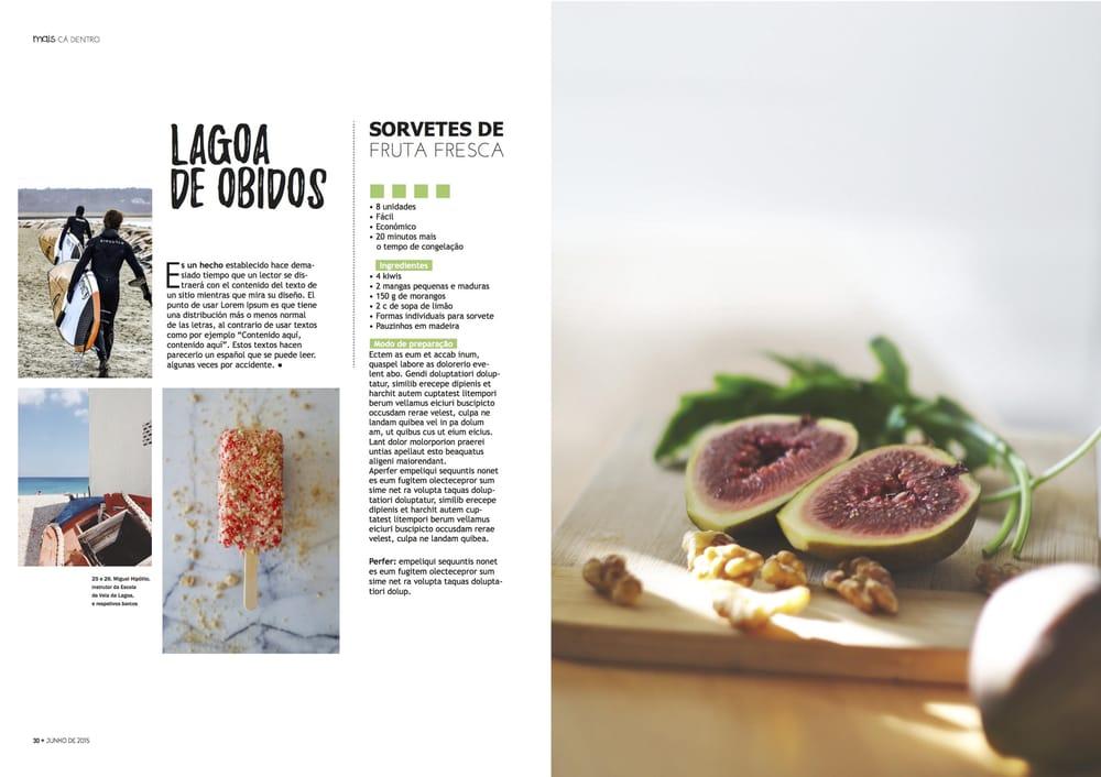 Food/Lifestyle Magazine - image 2 - student project