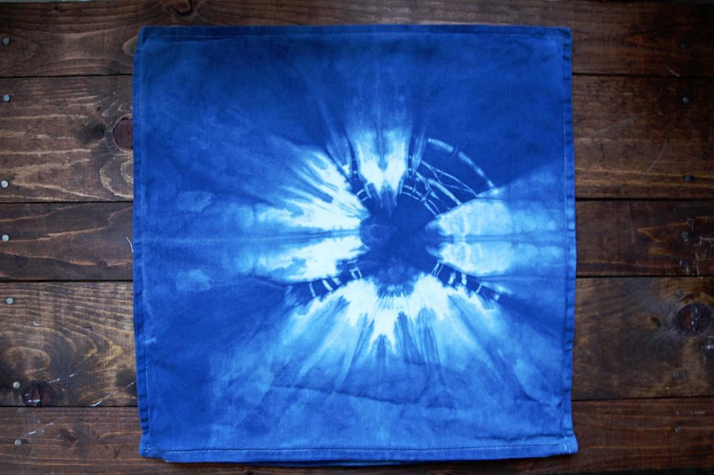 Before and Afters - Shibori 5 Ways - image 5 - student project