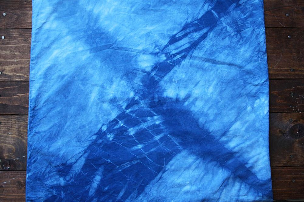 Before and Afters - Shibori 5 Ways - image 10 - student project