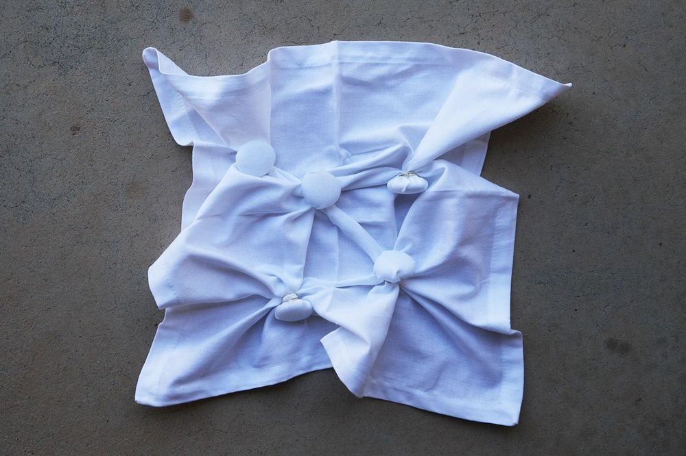 Before and Afters - Shibori 5 Ways - image 11 - student project