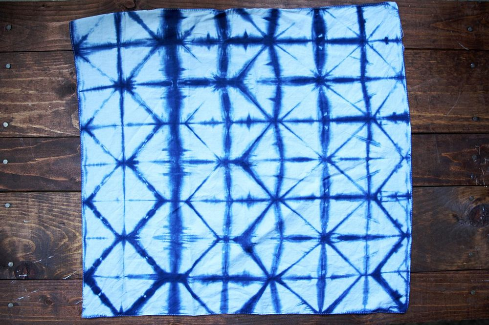 Before and Afters - Shibori 5 Ways - image 8 - student project