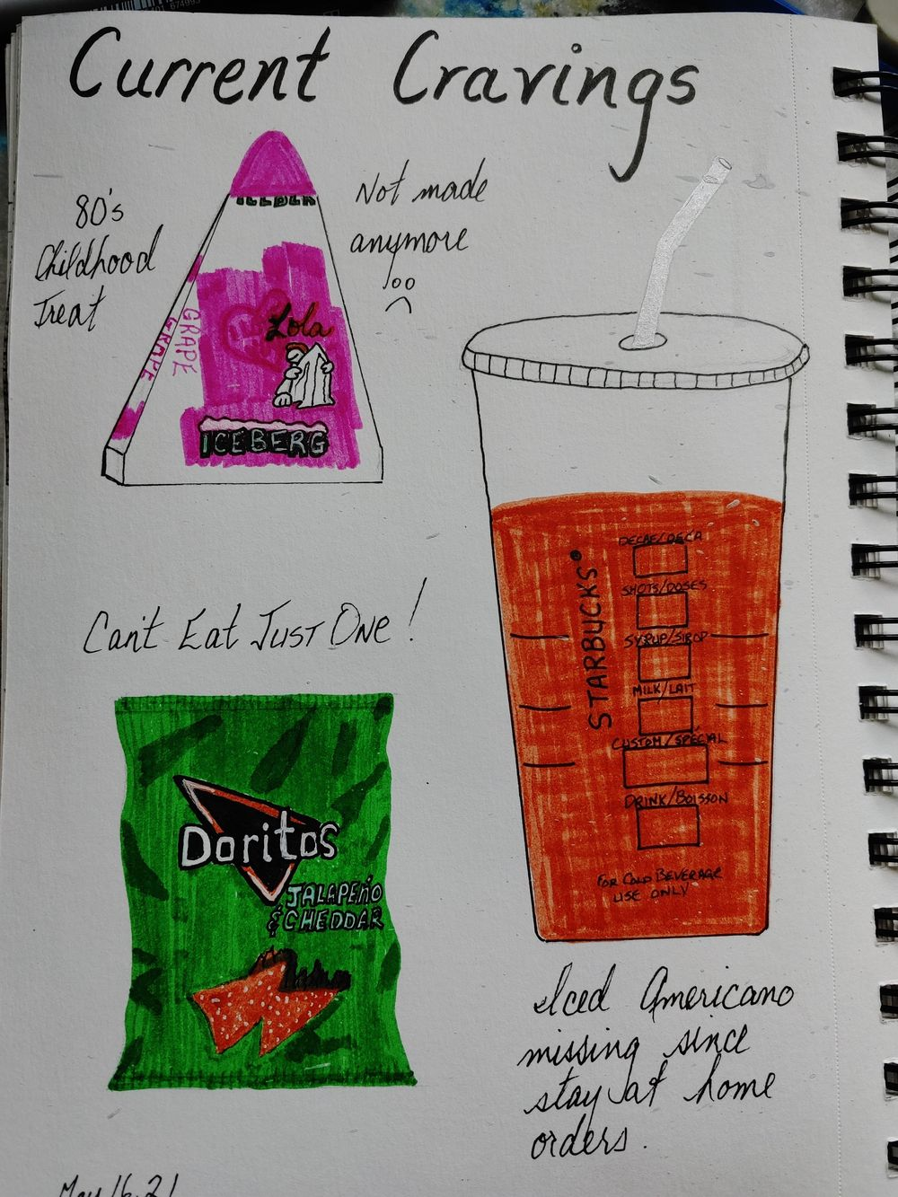 1st Time Journaling Attempt- 14 Day Challenge - image 7 - student project