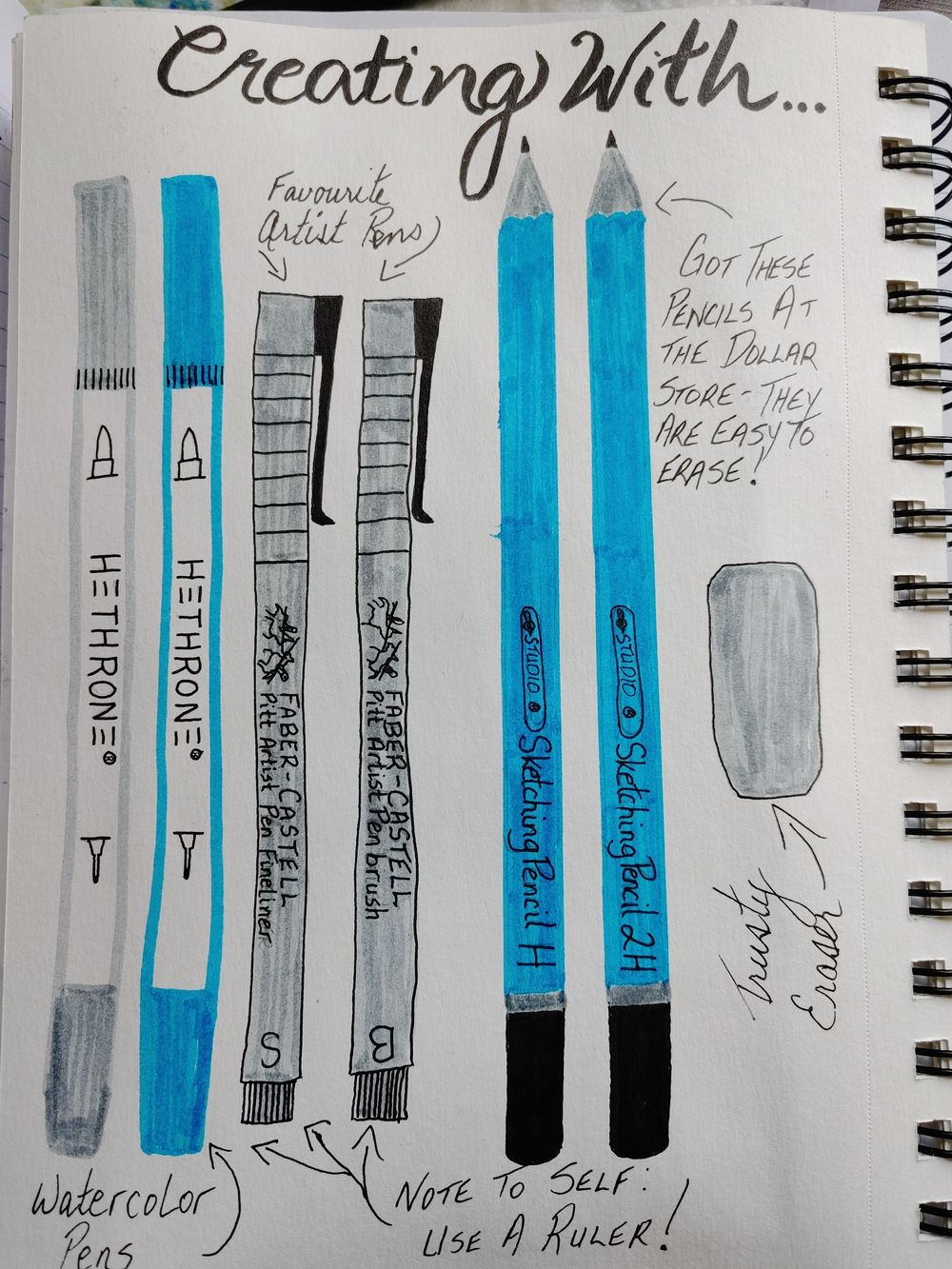 1st Time Journaling Attempt- 14 Day Challenge - image 3 - student project