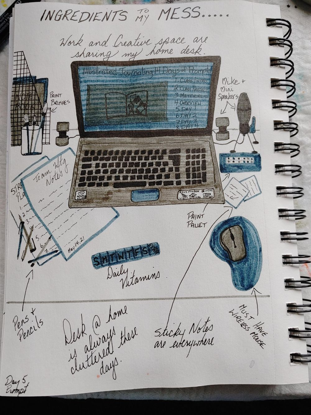 1st Time Journaling Attempt- 14 Day Challenge - image 5 - student project