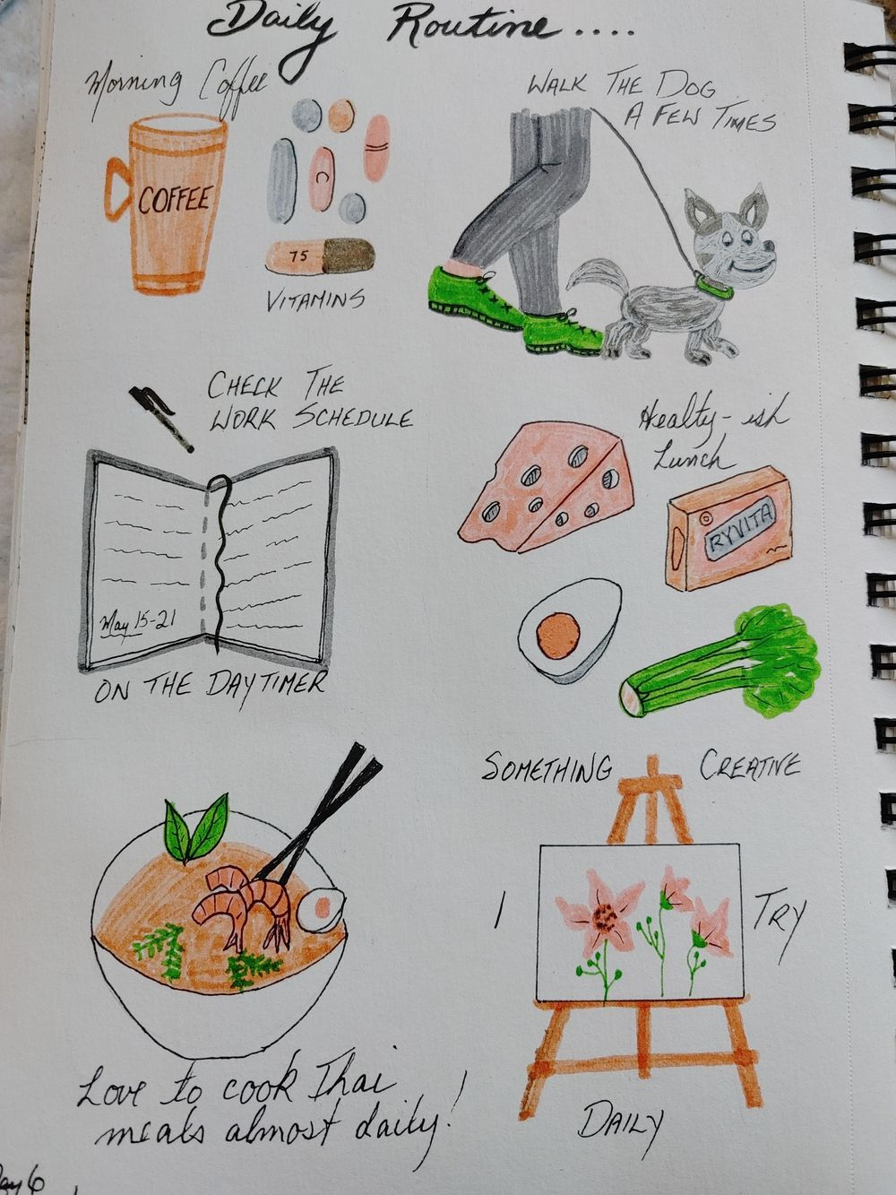 1st Time Journaling Attempt- 14 Day Challenge - image 6 - student project