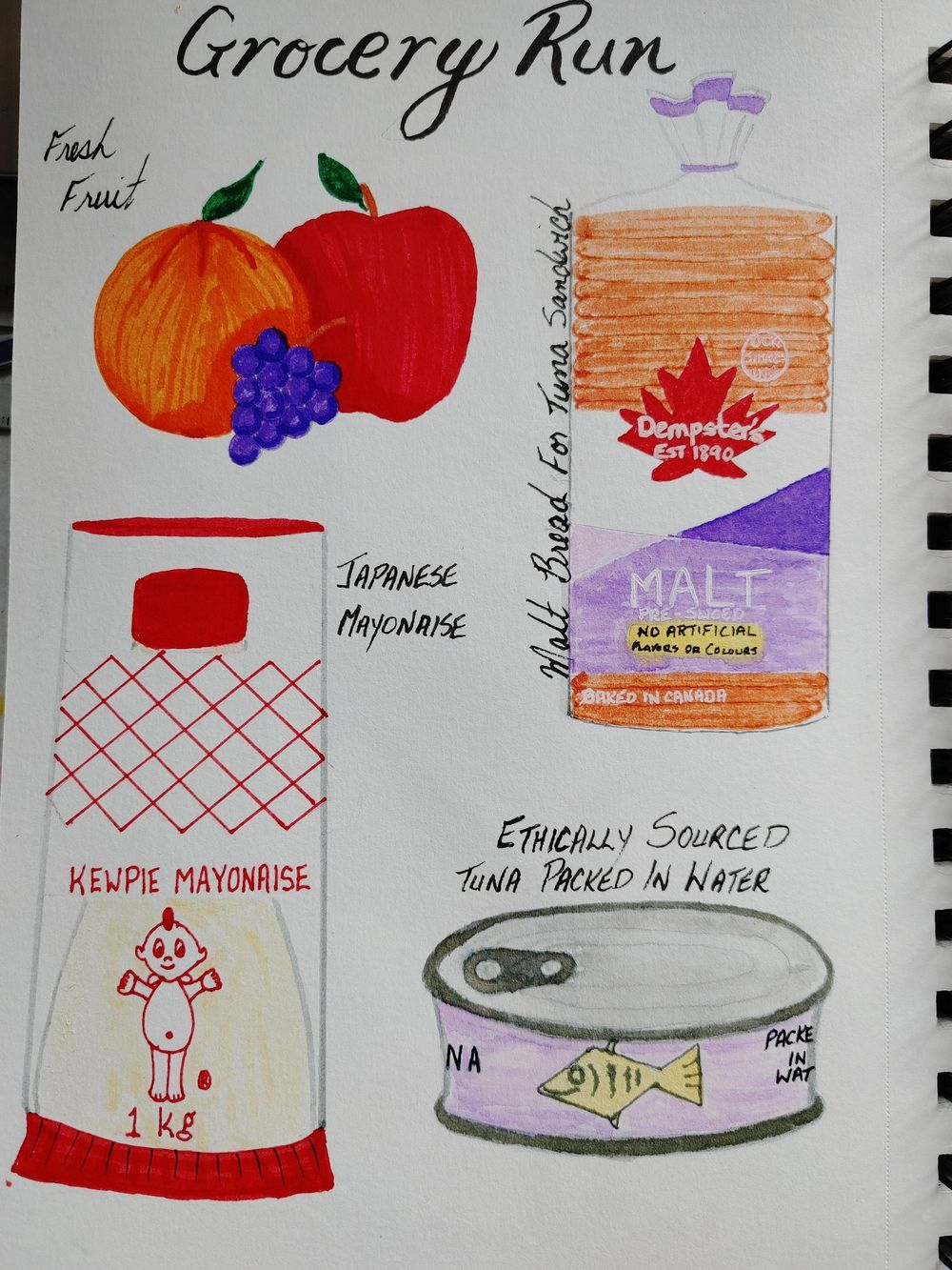 1st Time Journaling Attempt- 14 Day Challenge - image 10 - student project