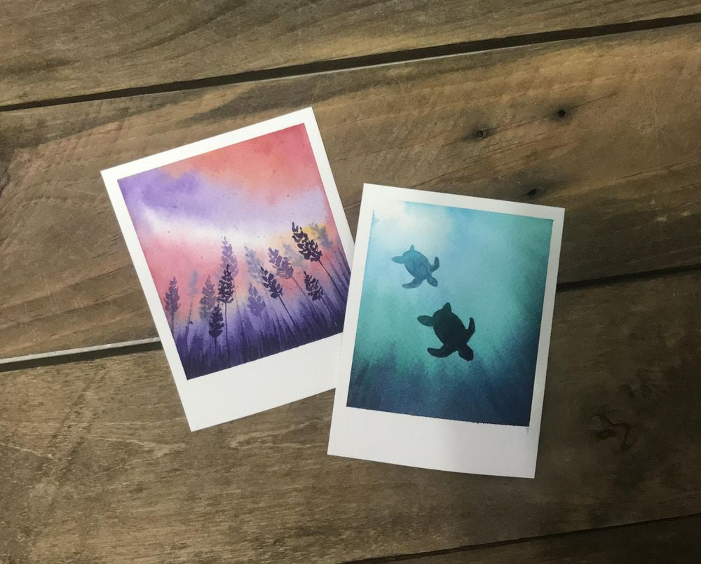 Polaroid Paintings - image 7 - student project
