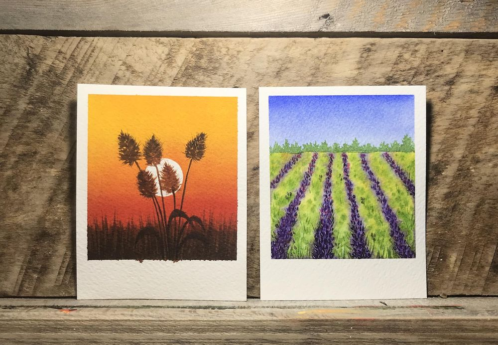 Polaroid Paintings - image 5 - student project