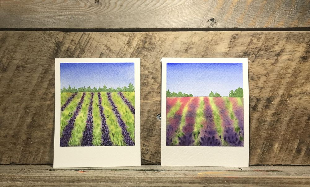 Polaroid Paintings - image 6 - student project