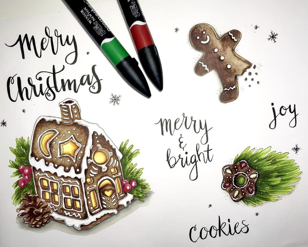 Christmas sampler - image 1 - student project
