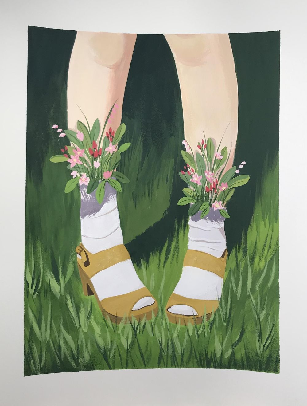 Flower Shoes - image 1 - student project