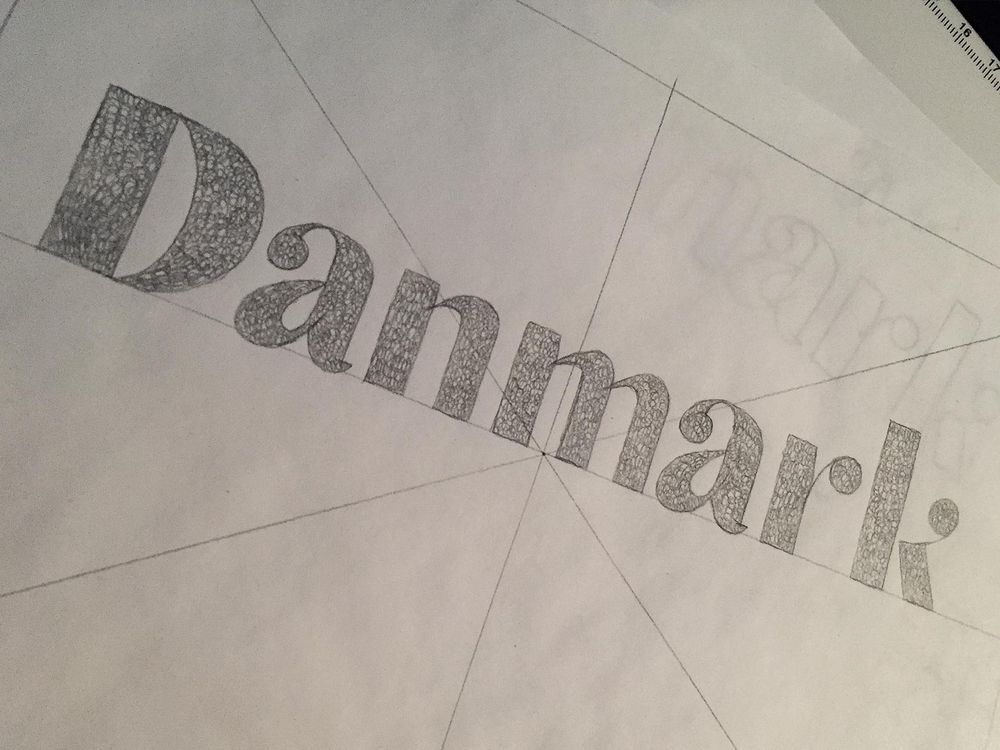 Hand Lettering Turned into Type Design - image 1 - student project