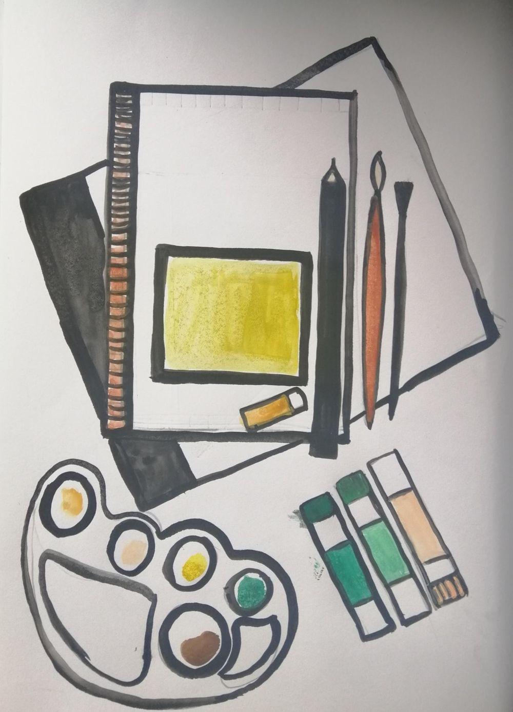 Fearless Art Jumpstart - image 6 - student project