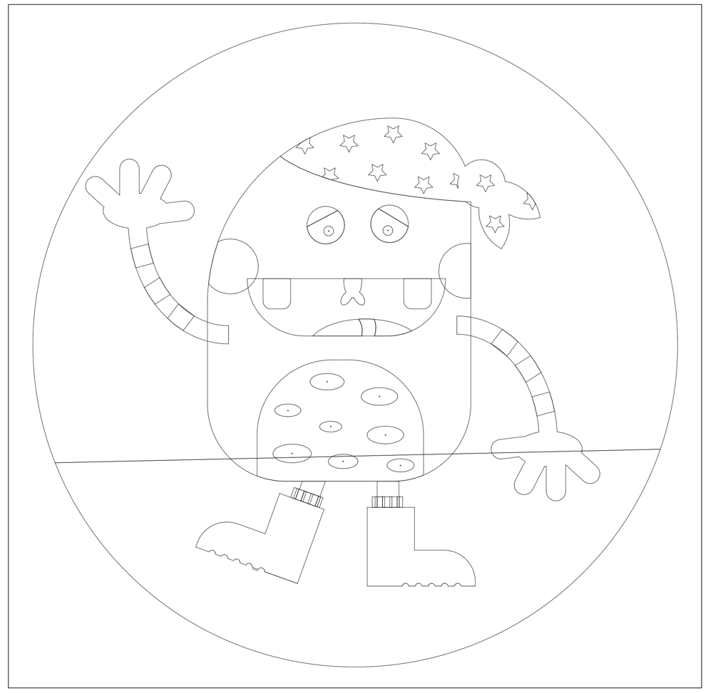 Pirate Monster - image 2 - student project