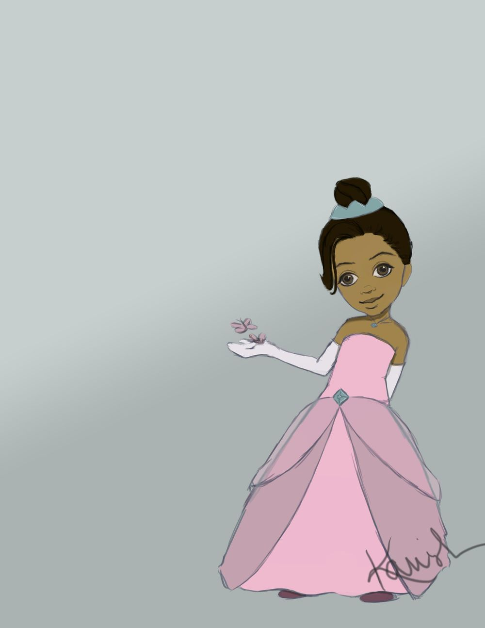 Princess Haylee - image 1 - student project