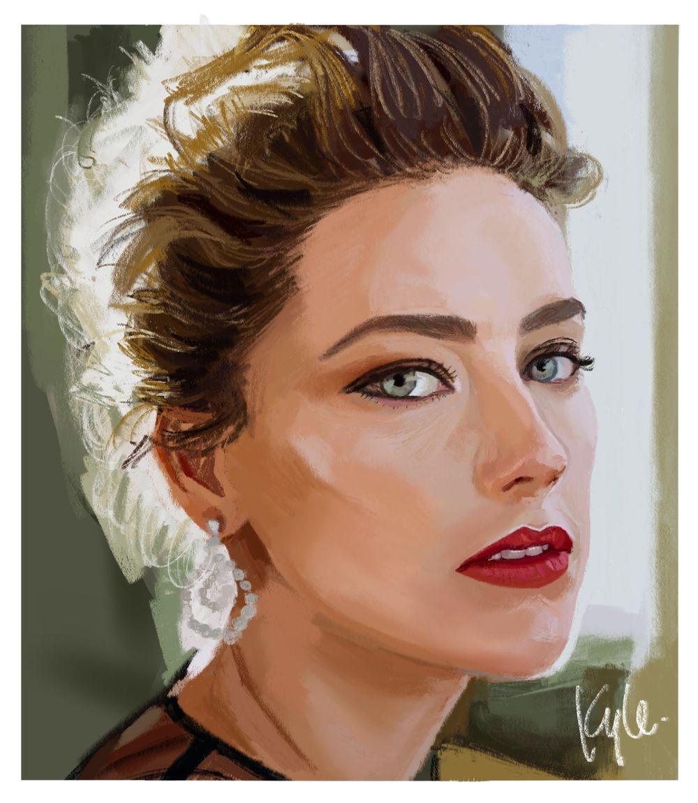 My Portrait Practice - image 1 - student project