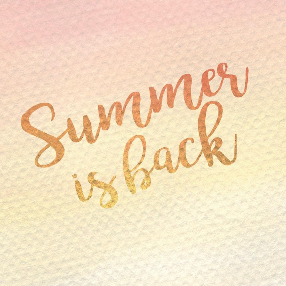 Summer is back - image 1 - student project