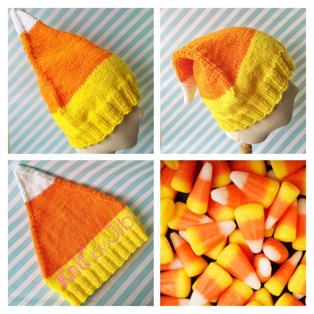 Knit a Pixie Style Hat - image 1 - student project