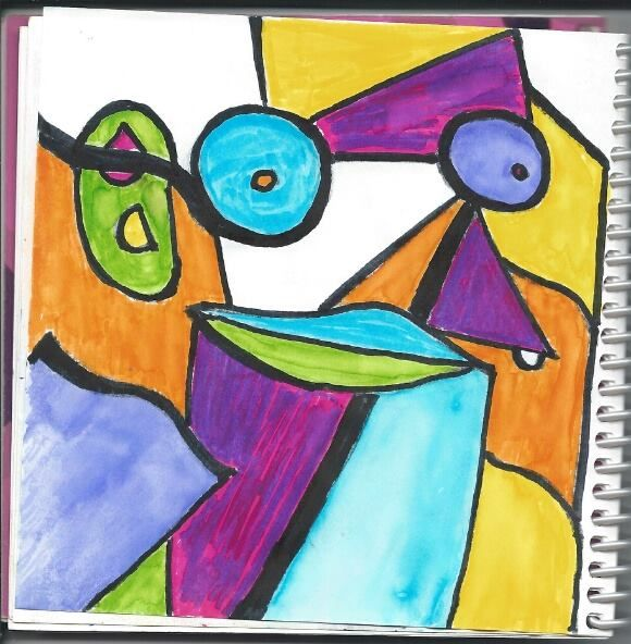 Abstract Art - image 1 - student project