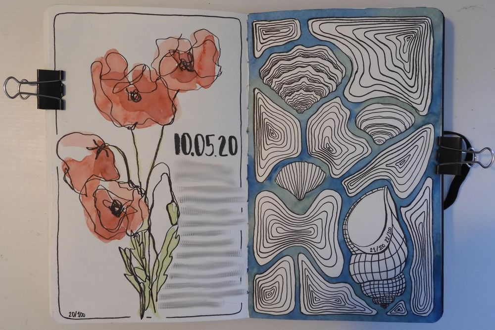 100 Days in my Sketchbook - image 7 - student project